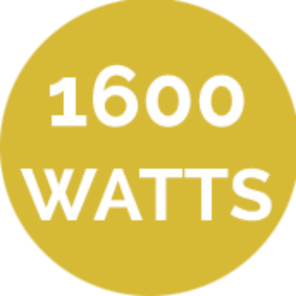 1600 watts brosseuse pour gazon