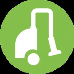 brosse electrique collecte des detritus de pelouse synthétique
